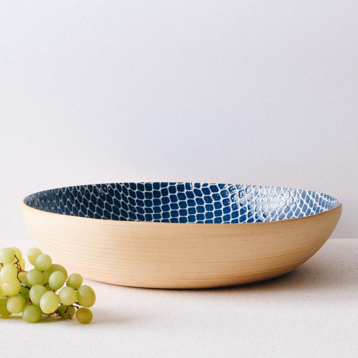 Terrafirma Ceramics Super Bowl (Cobalt/Taj)
