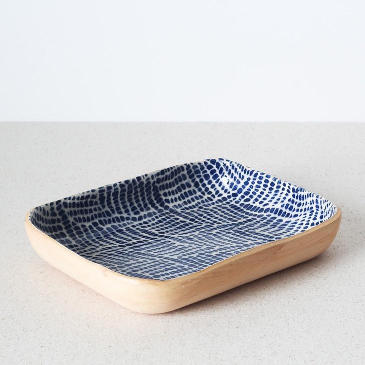 Tidbit Bowl by Terrafirma Ceramics (Cobalt/Braid)