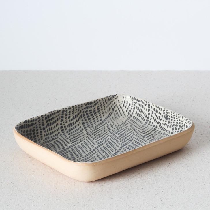 Tidbit Bowl by Terrafirma Ceramics (Charcoal/Braid)