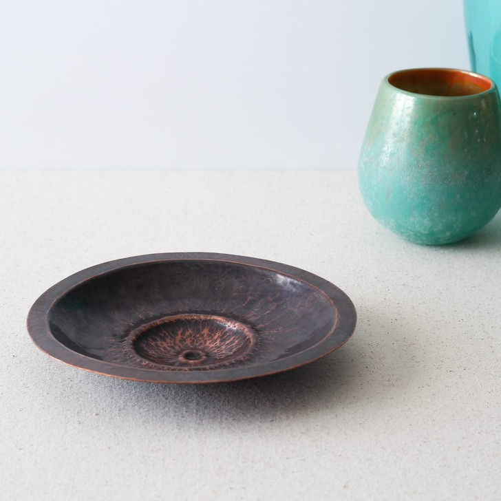 """8"""" Hand Formed Copper Dish by Brasscopper (Arianna Morales)"""