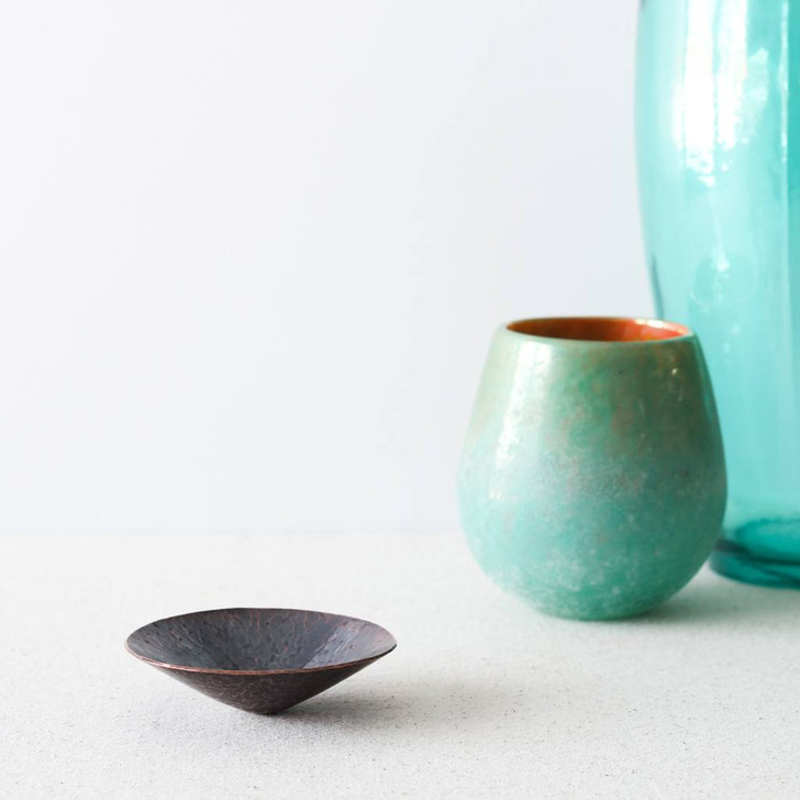 Spinning Copper Bowl by Brass Copper (Arianna Morales)