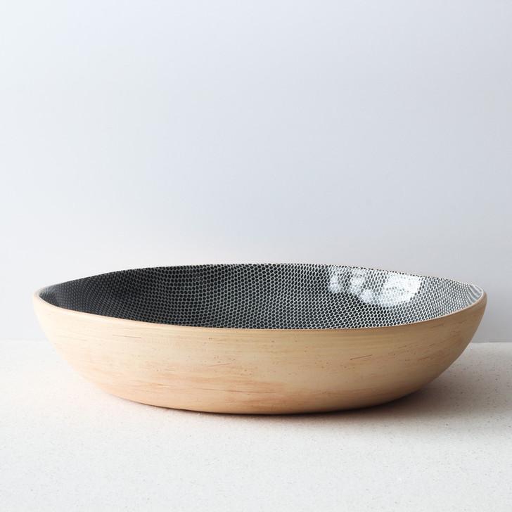 Terrafirma Ceramics Super Bowl (Black/Honeycomb)