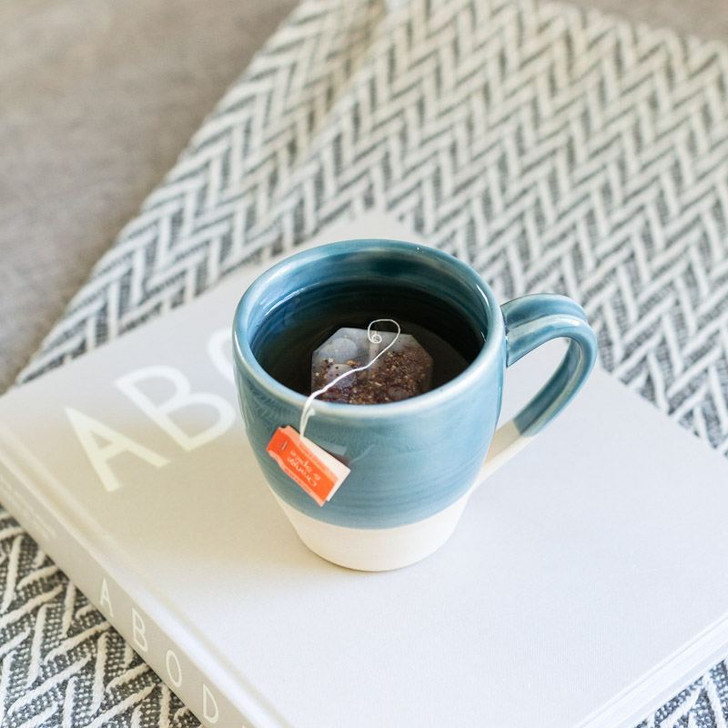 Handmade Ceramics Mug (Ocean) by Lafayette Avenue Ceramics