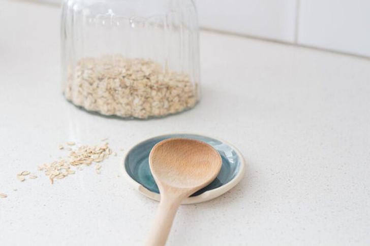 Ceramic Spoon Rest by Lafayette Avenue Ceramics