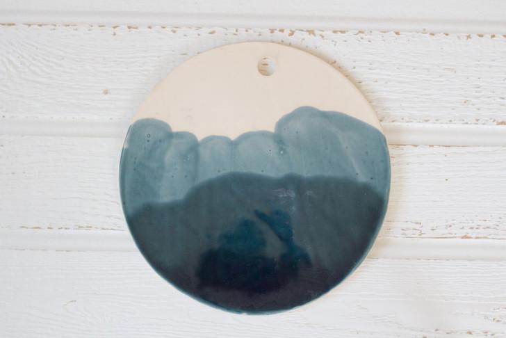 Ceramic Cheese Board by Lafayette Avenue Ceramics (Tide)