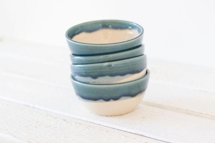Ceramic Soup Bowls by Lafayette Avenue Ceramics (Tide)