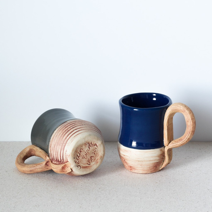 Terrafirma Ceramics Mug (Cobalt and Charcoal)