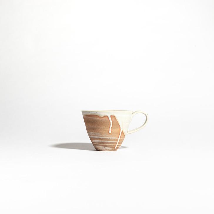Handmade Ceramic Marbled Mug by Whiskey & Clay