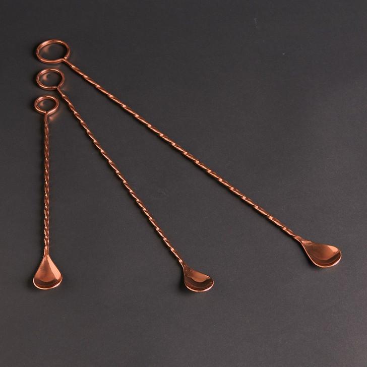 Sertodo Handmade Copper Cocktail Stirrer - Ringer Bar Spoon