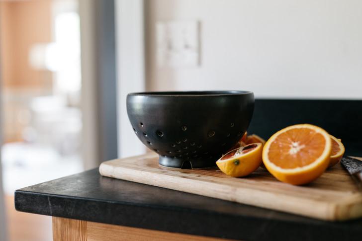 Handmade Ceramic Colander, Large