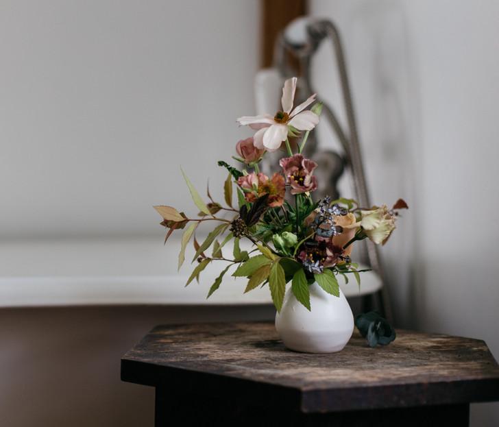 Handmade Beehive Bud Vase