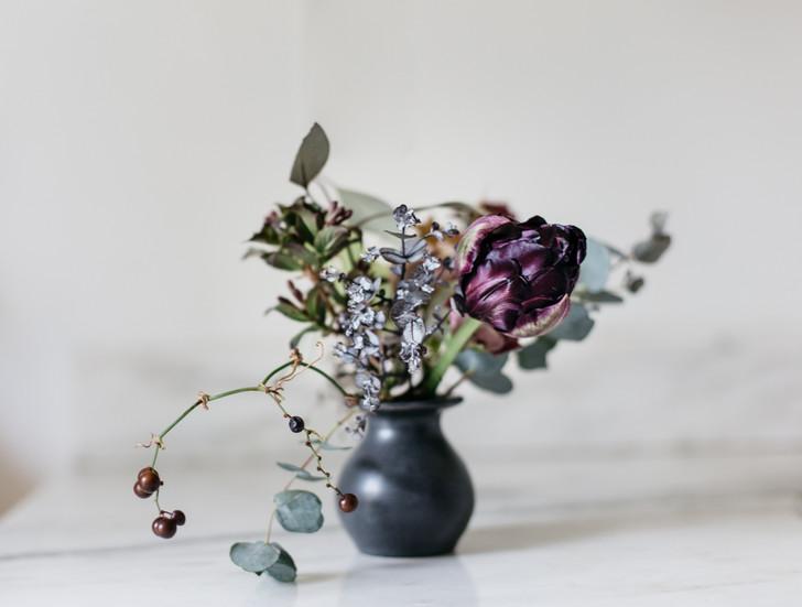 Collared Bud Vase