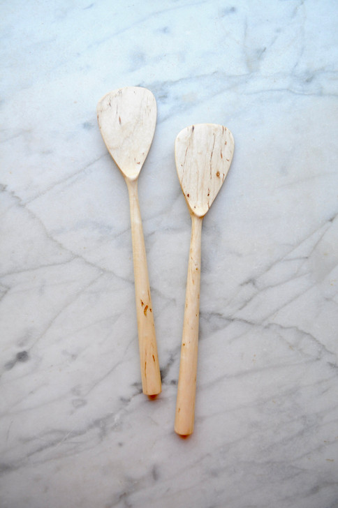 Handmade Modern Maple Spatula by Four Leaf Wood Shop