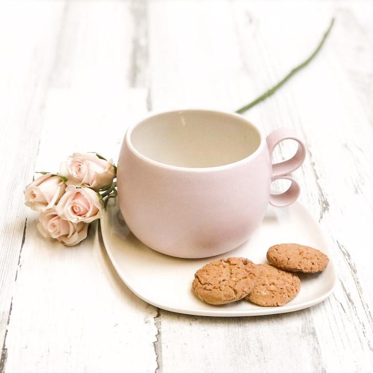 Handmade Ceramic Love Mug - Valentine's Day Gift