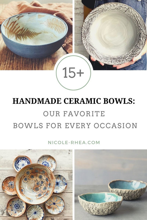 Large Wheel Thrown Pottery Planter or Bowl made with Food Safe Clay and Glazes Ceramic Fruit Bowl or Candy Dish