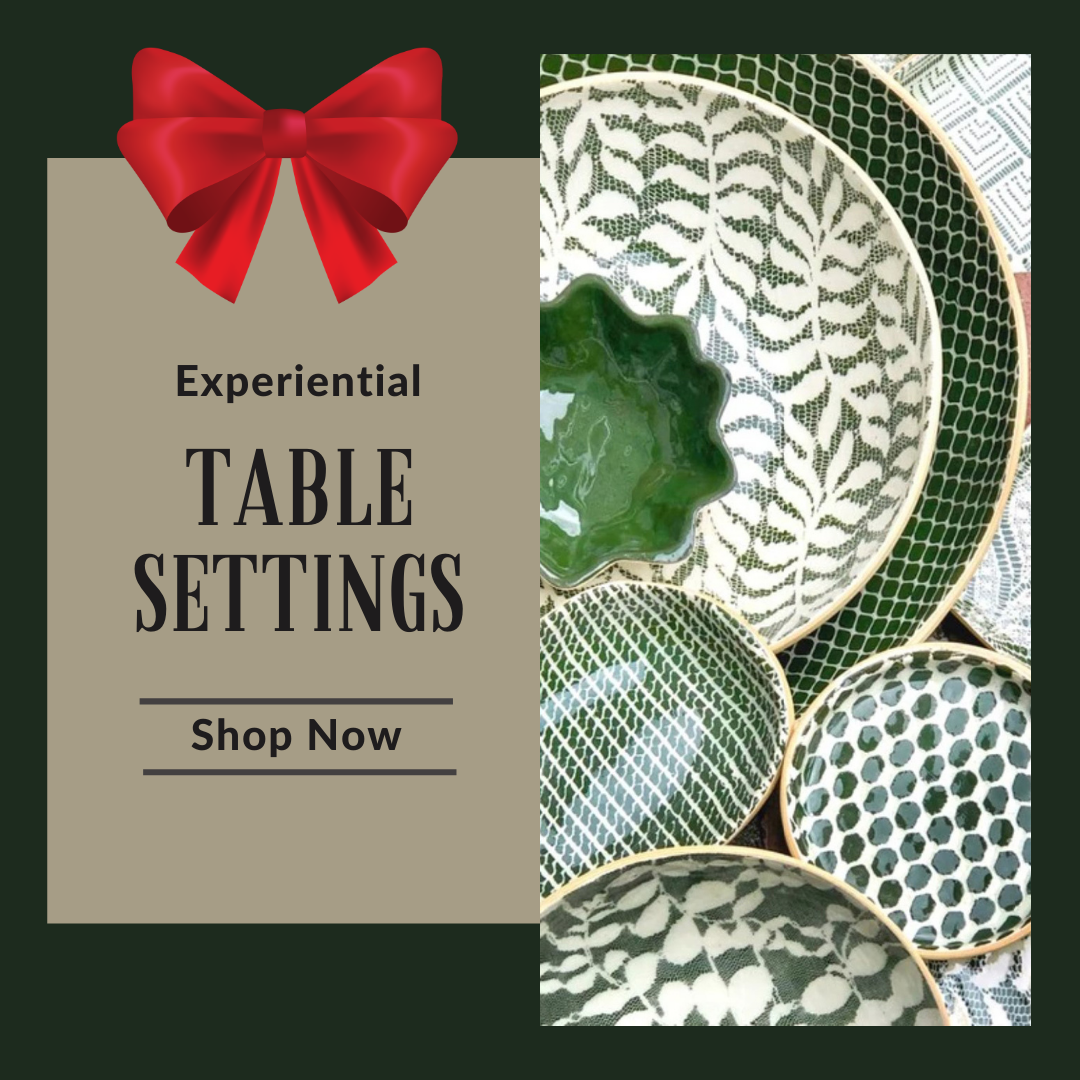 Unique Handmade Gifts - Table Settings
