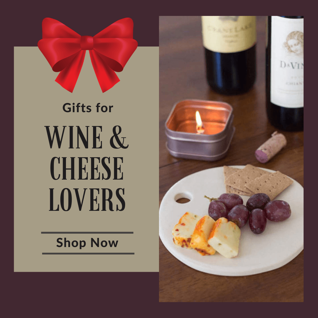 Unique Handmade Gifts for Wine and Cheese Lovers