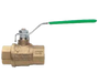 Lead Free Brass Meter Isolation Valves - NPT Threaded