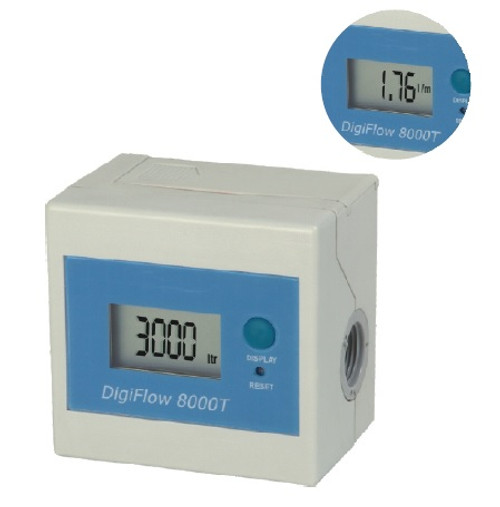 Digital Flow Monitor for Water Filters