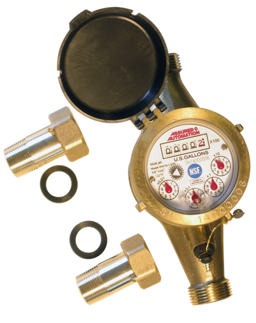Master Meter Flexible Axis Water Meter Available At Flows Com