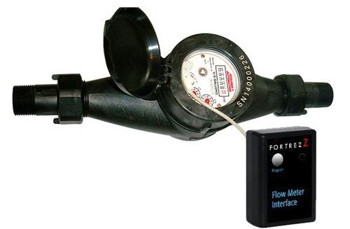 Plastic Meter with ZWave Flow Meter Interface