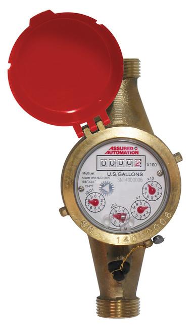 "WM-NLCH Series Hot Potable Water Meter 3/4"""
