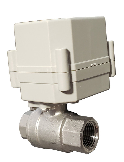 "EBV - Electric Ball Valve (full port) with Capacative ""Spring"" Return"