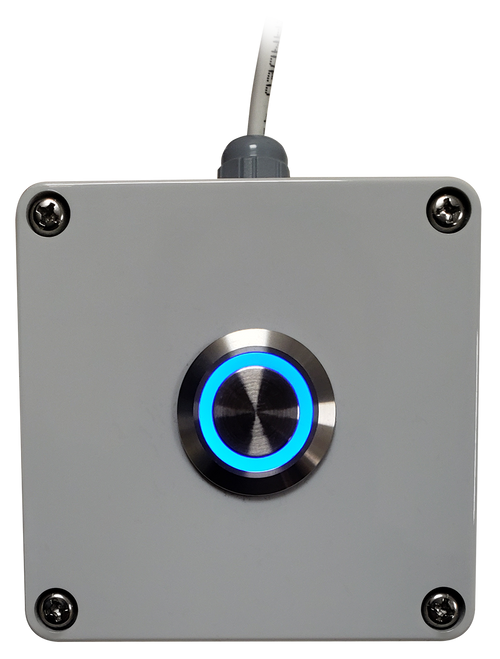 Weatherproof  Remote Button for Batch Controller