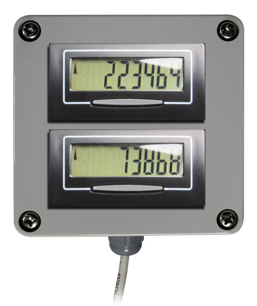 Dual Digital Display for Water Meters