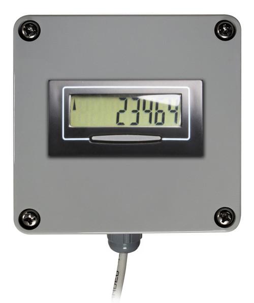 Single Weatherproof Digital Display for Water Meters