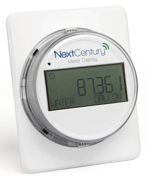 Next Century Digital Water Meter Display