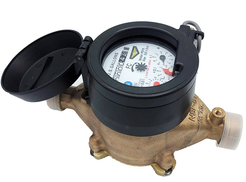 NTEP Approved Positive Displacement Water Meter
