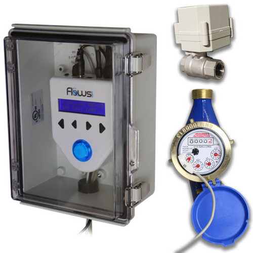 3 main components: Controller, Meter, Valve