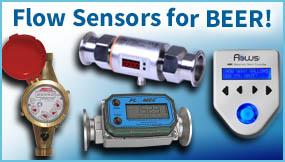 Flow Sensors for Beer!