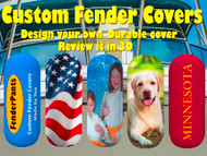 Design and Preview your Personalized Boat Fender Covers with our new 3D Simulator