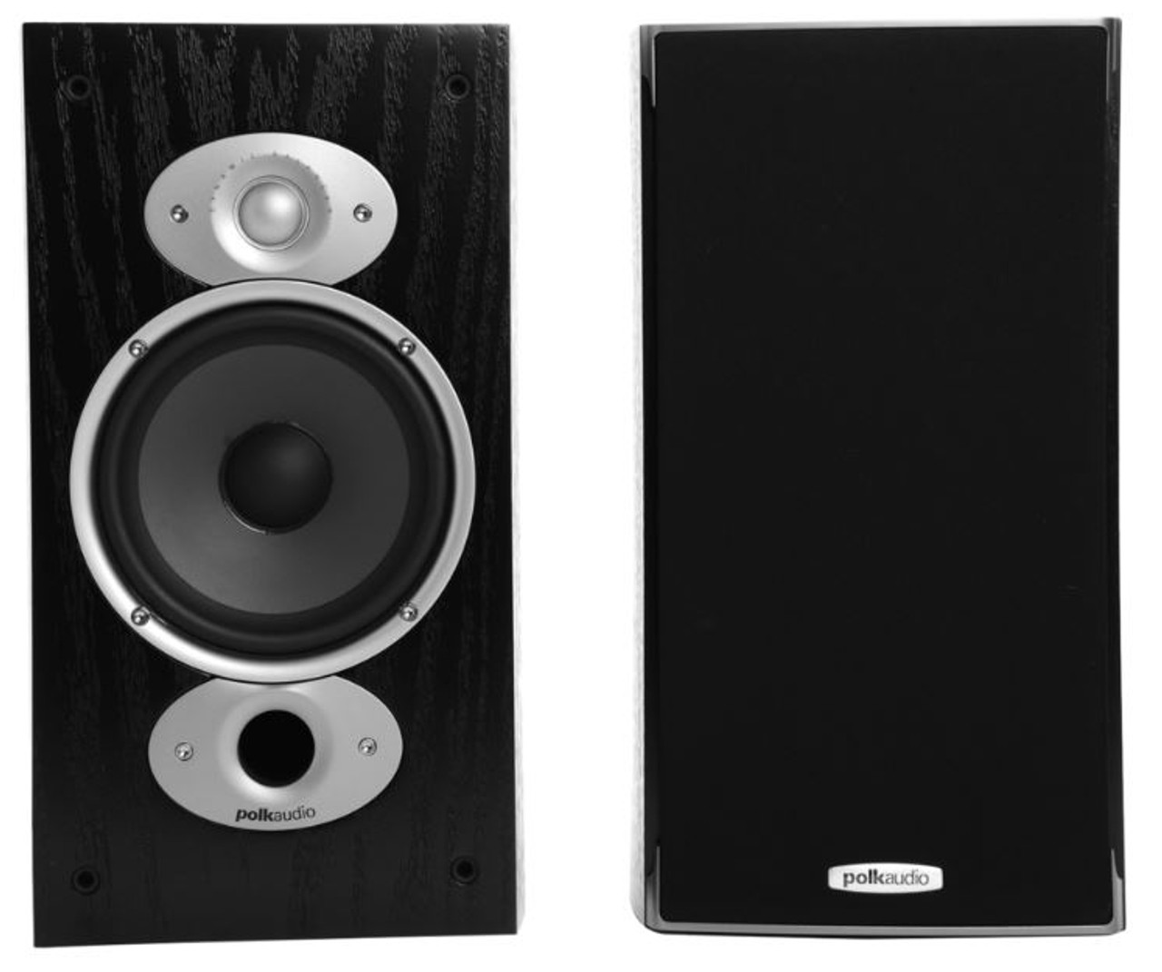 Polk Audio RTi A3 2-Way Bookshelf Speakers - Black - Refurbished - (ZM3375-A)