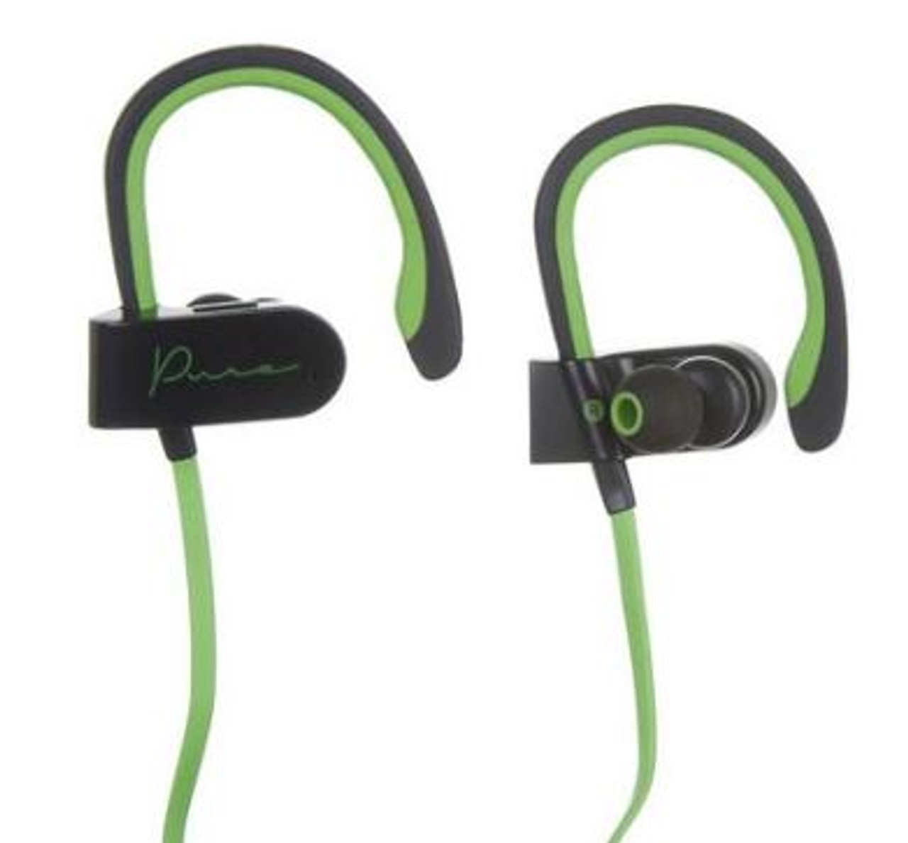 3c0b1cddac2609 Mental Beats 72323 Pure Wireless Earbuds with Mic Green/Black - Deal ...