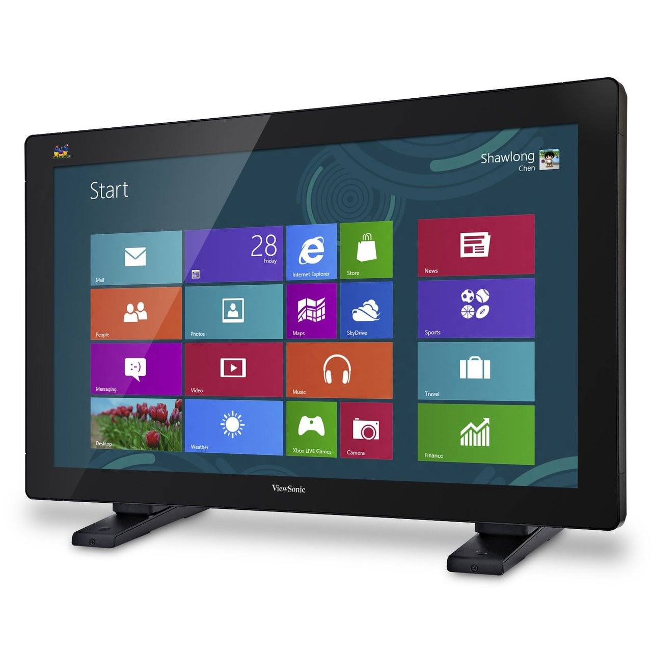 "ViewSonic TD3240-S 32"" Multi-Touch Full HD LED-LCD Monitor - Refurbished"
