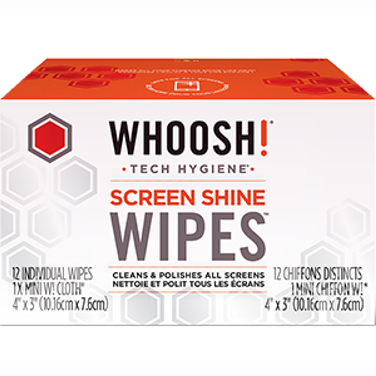 WHOOSH 31WC12 antimicrobial microfiber cleaning cloth 12 Pack