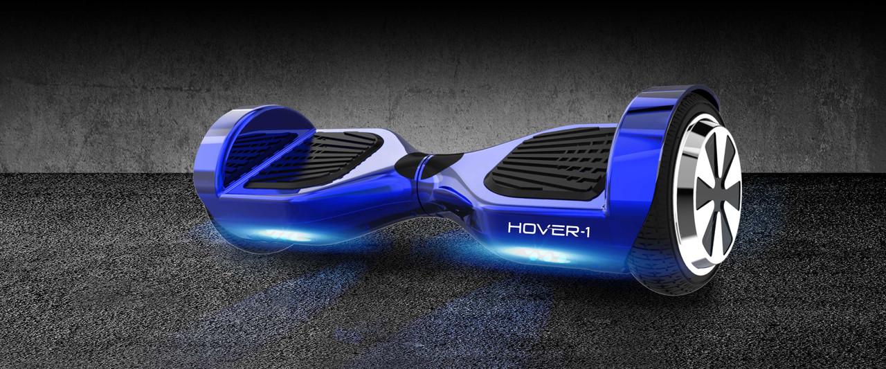 Hover-1 HY-ULT-REFURB-BLU UL 2272 Electric Self Balancing Hoverboard with LED Lights- Blue - Certified Refurbished