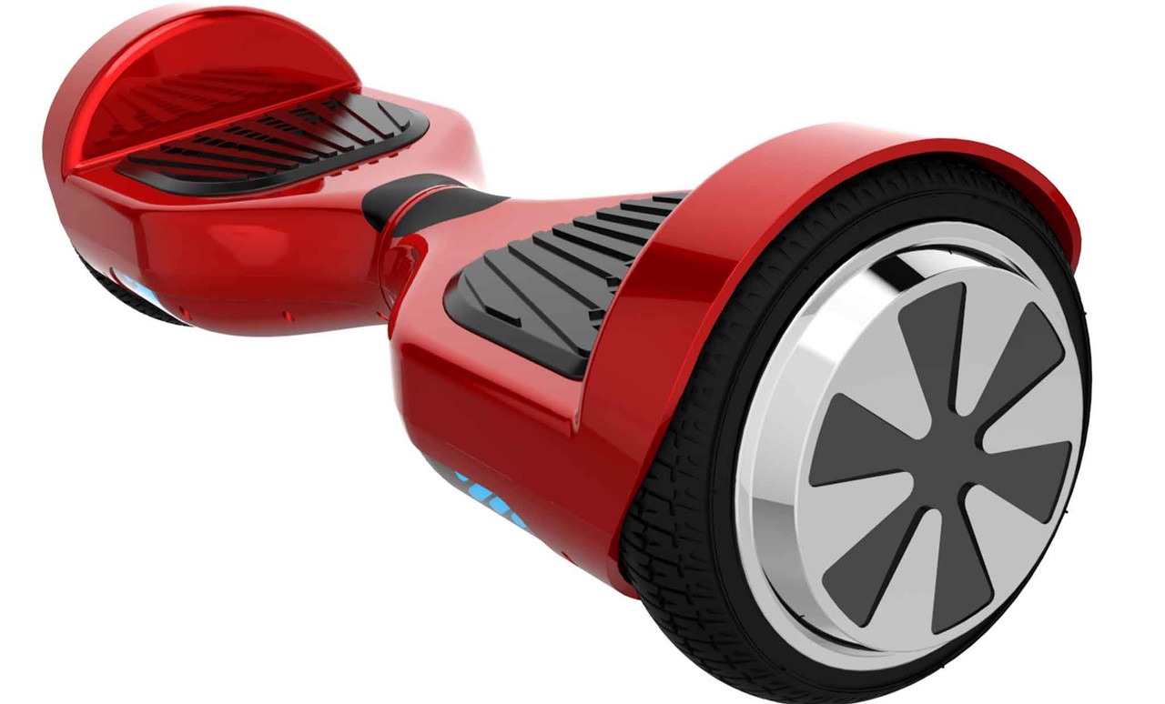 Hover-1 HY-ULT-REFURB-RED UL 2272 Certified Electric Self Balancing Hoverboard with LED Lights- Red - Certified Refurbished