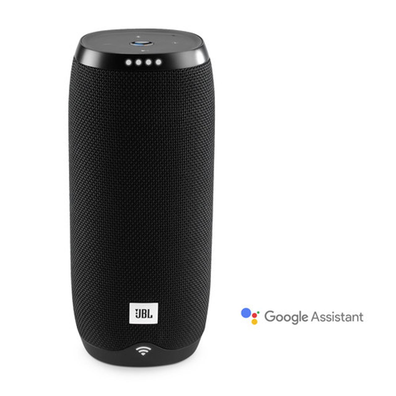 JBL JBLLINK20BLKUS-Z Voice-activated Speaker- Portable Link 20- Black - Certified Refurbished