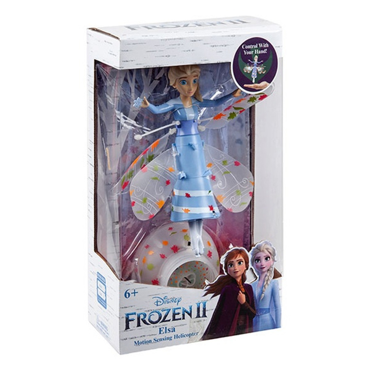 Frozen Elsa UFO Helicopter with Motion Sensing -7.5 Inch