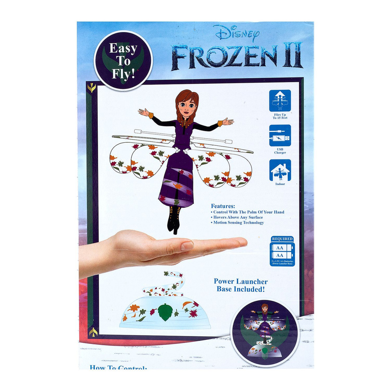 Frozen Anna UFO Helicopter with Motion Sensing -7.5 Inch