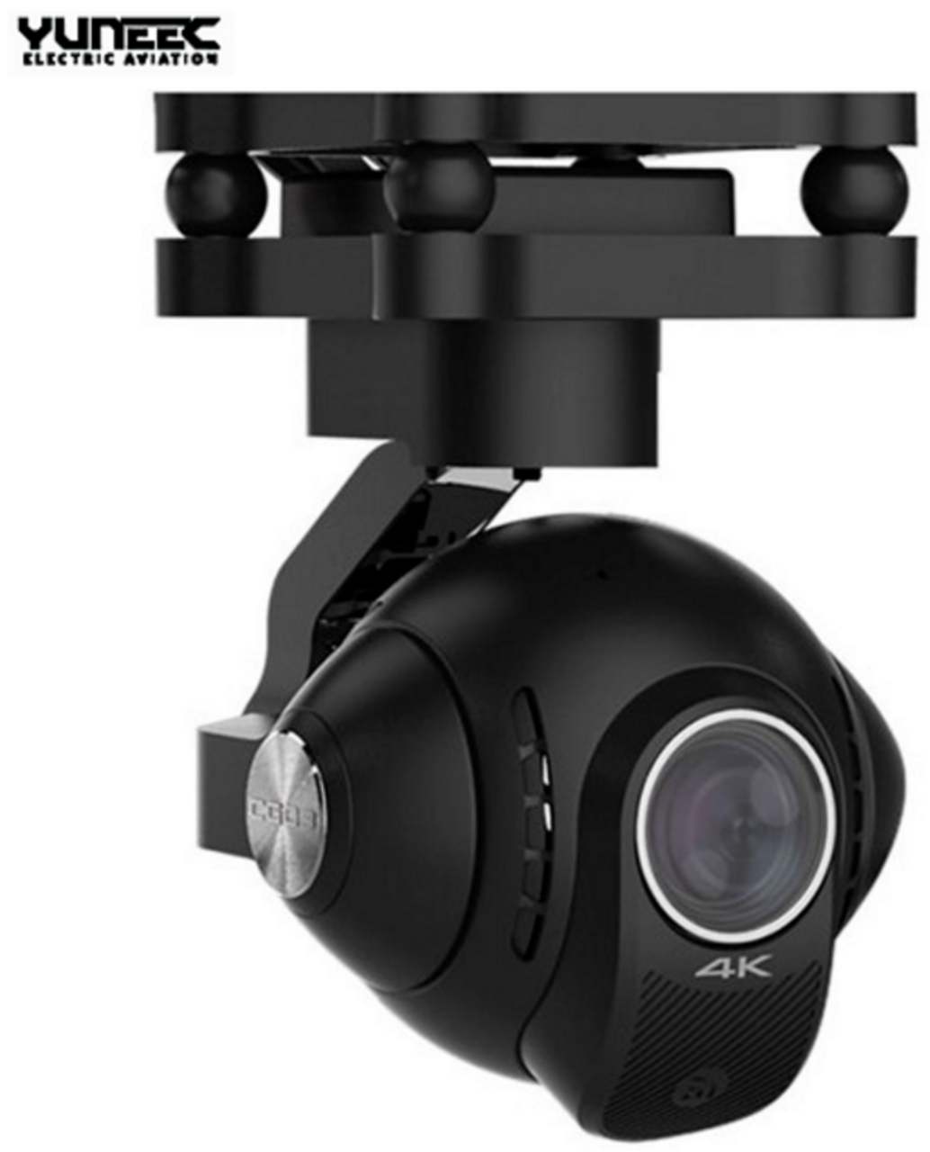 Yuneec YUNCG03US CG03 4K 3-axis Gimbal Camera w/ 5.8GHz Digital Video Downlink US