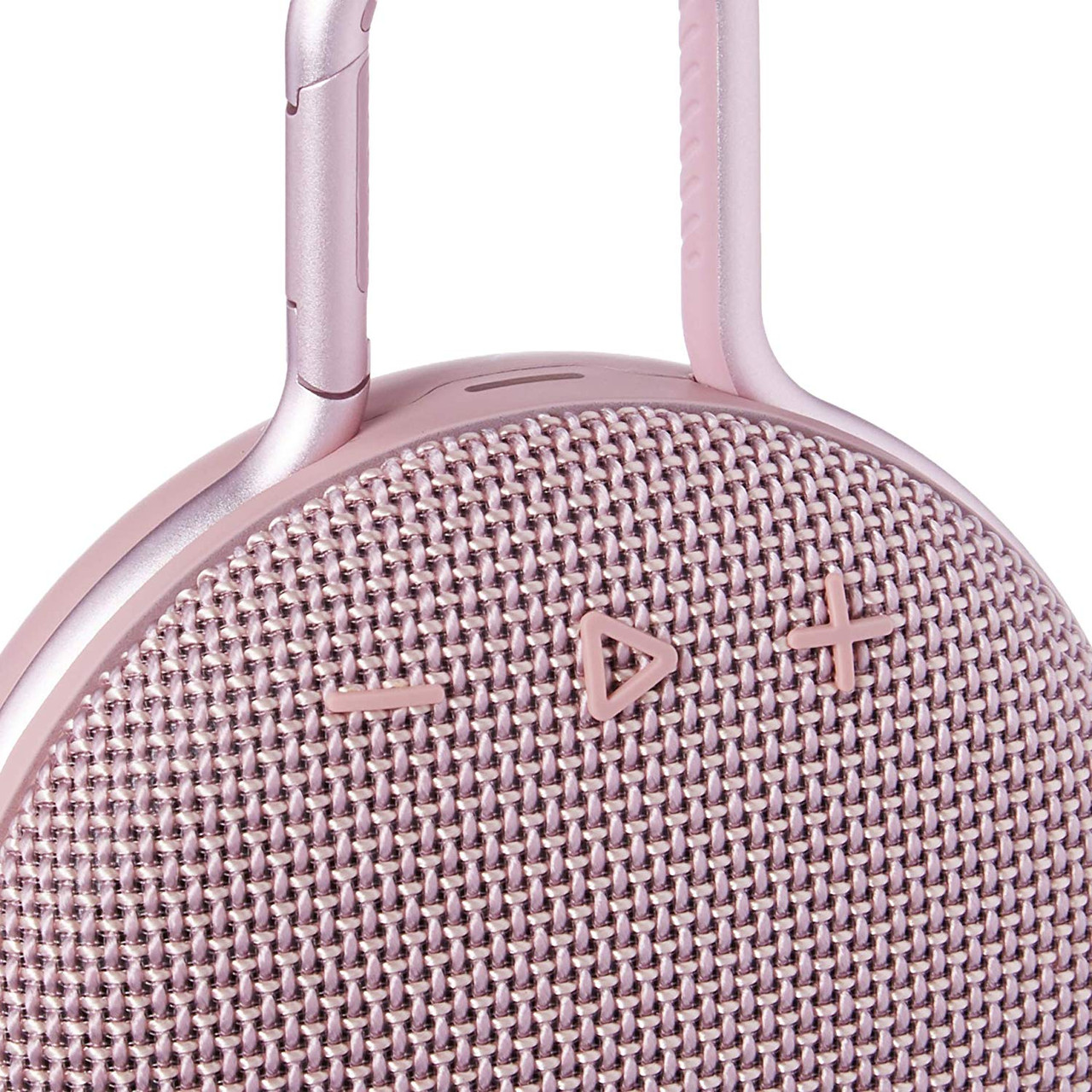 Pink JBL Clip 3 Portable Bluetooth Waterproof Speaker