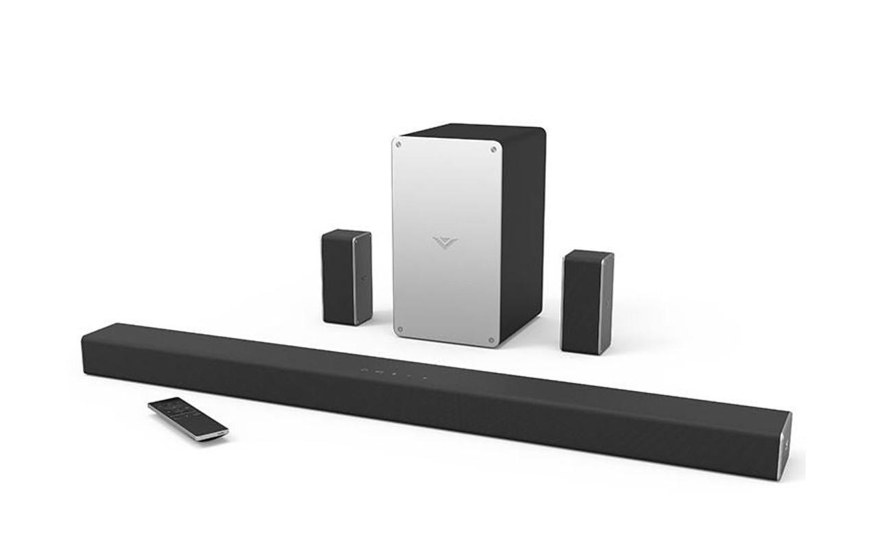 "VIZIO SB3651-E6B-RB 36"" 5.1 SmartCast Sound Bar System- Cert Refubished"
