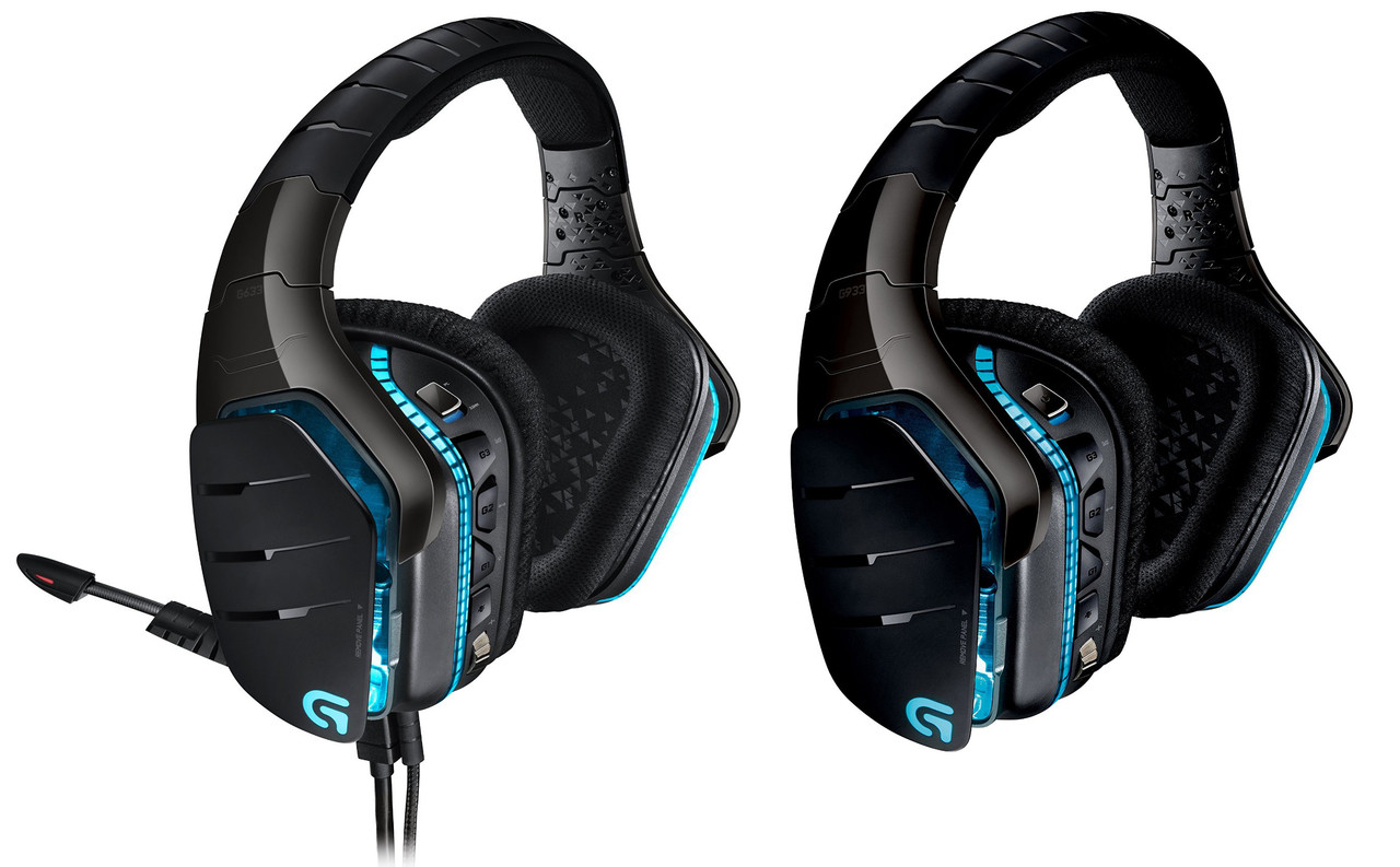 Logitech G933 Black Artemis Spectrum RGB 7.1 Surround Sound Gaming Headset - Refurbished