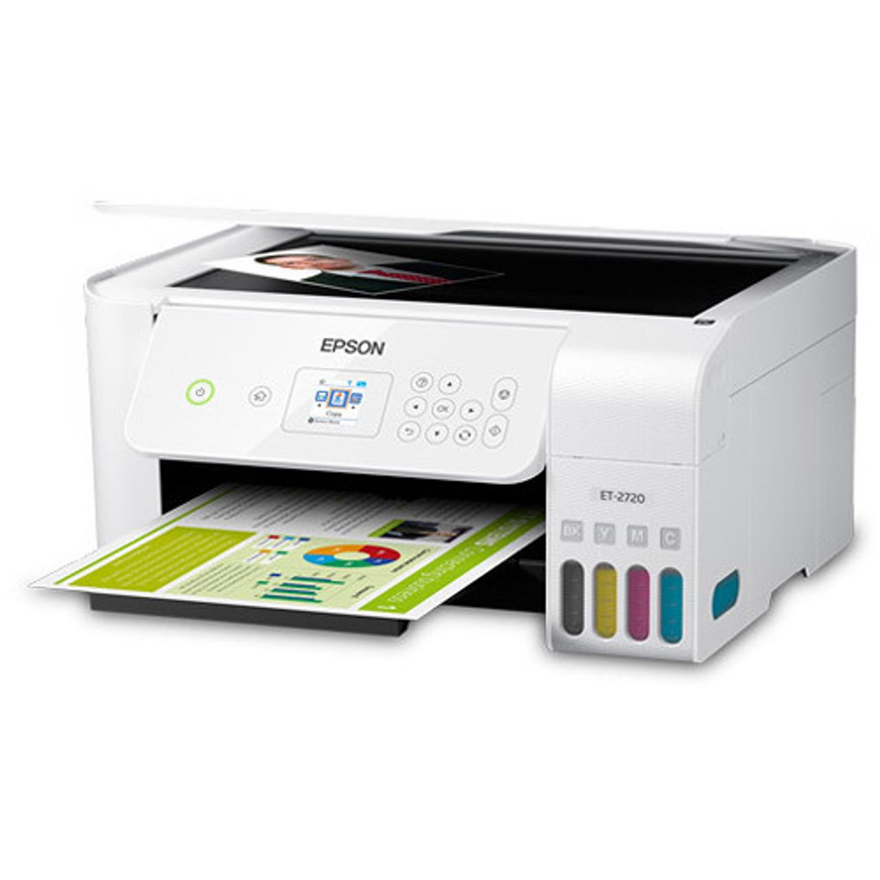 Epson C11CH42202-RB EcoTank ET-2720 All-In-One Inkjet Printer – Certified Refurbished