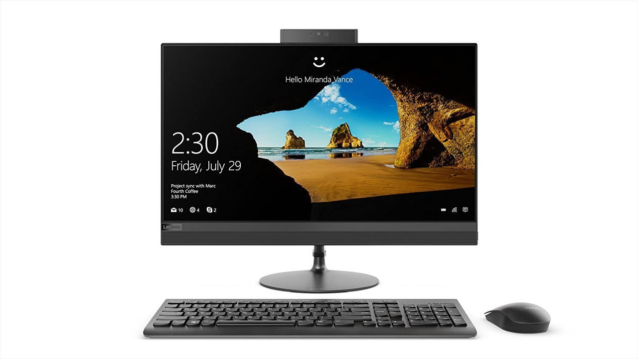 "Lenovo F0DE000JUS-LCR  27"" All-in-One Desktop Computer IdeaCentre 520– Touchscreen-Cert. Refurbished"
